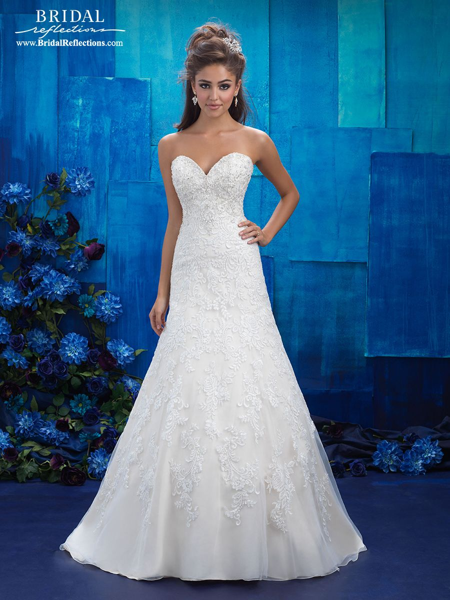Bridal wedding dresses  Allure Wedding Dress and Gown Collection  Bridal Reflections