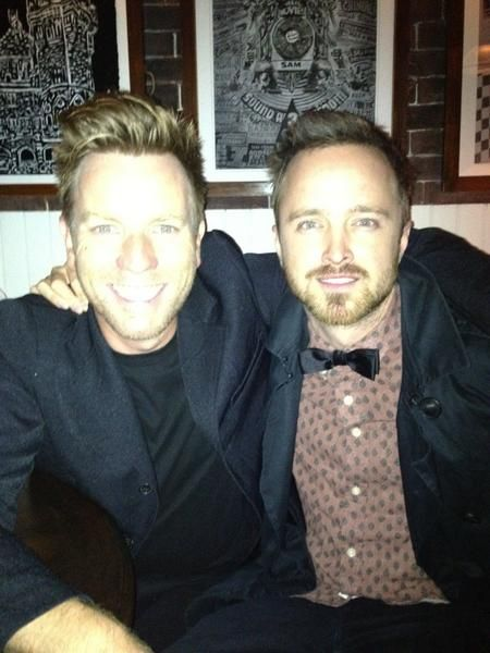 Ewan McGregor and Aaron Paul!