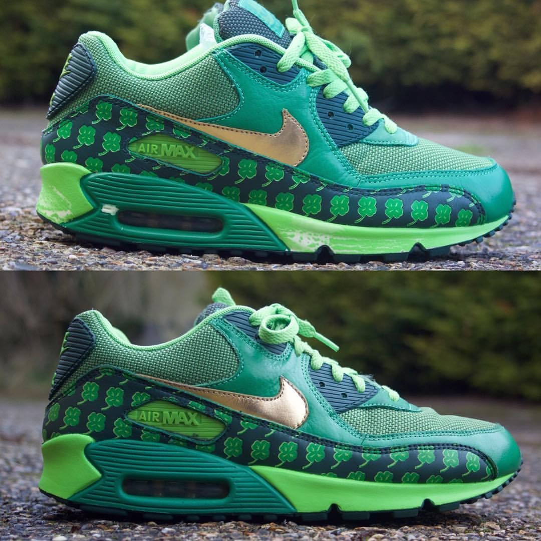 Before and after of these Nike air max