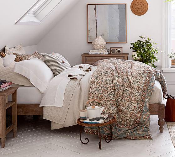 Astoria Platform Bed Pottery Barn Home Decor Home Furniture