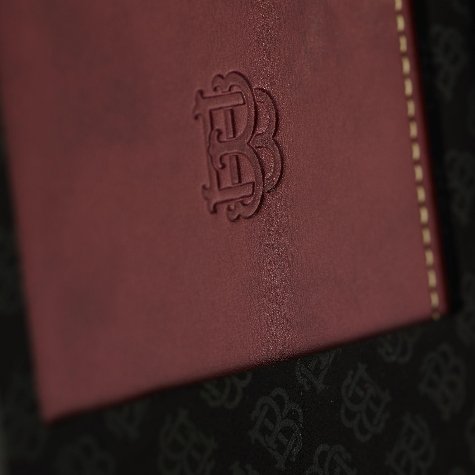 Beringer Eighth Maker Luxury Packaging Wine Case Luxury Packaging Leather Bound Notebook