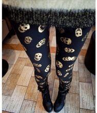 leggins de calavera, disponible en dos colores. Super comodos! Precio 4.80€ http://www.chinadirecto.com/sasproduct/leggins-calavera/