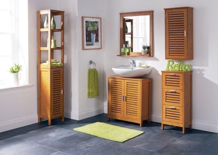 Badezimmer Bambusmobel