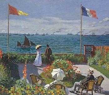 »»» Claude Monets künstlerische Persönlichkeit entwickelte sich in Le Havre, wo er seine Kindheit...    #kunst