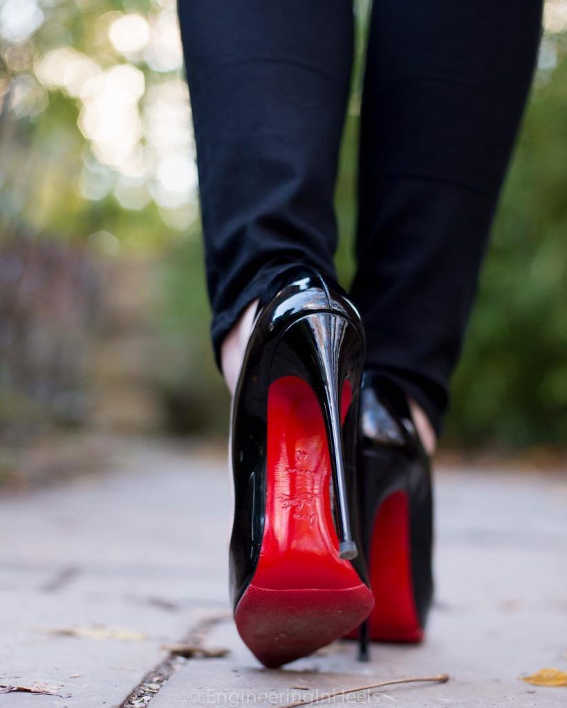 94b75be4cace Christian Louboutin 130mm Hot Chick Heels of EngineeringInHeels