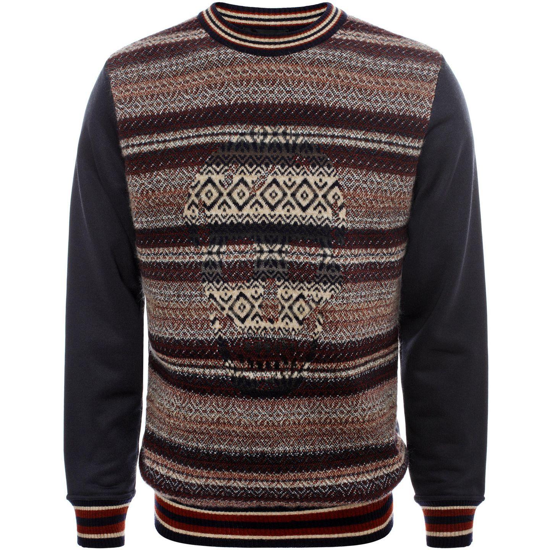 ALEXANDER MCQUEEN | Knitwear | Fairisle Skull Jumper | kniting ...