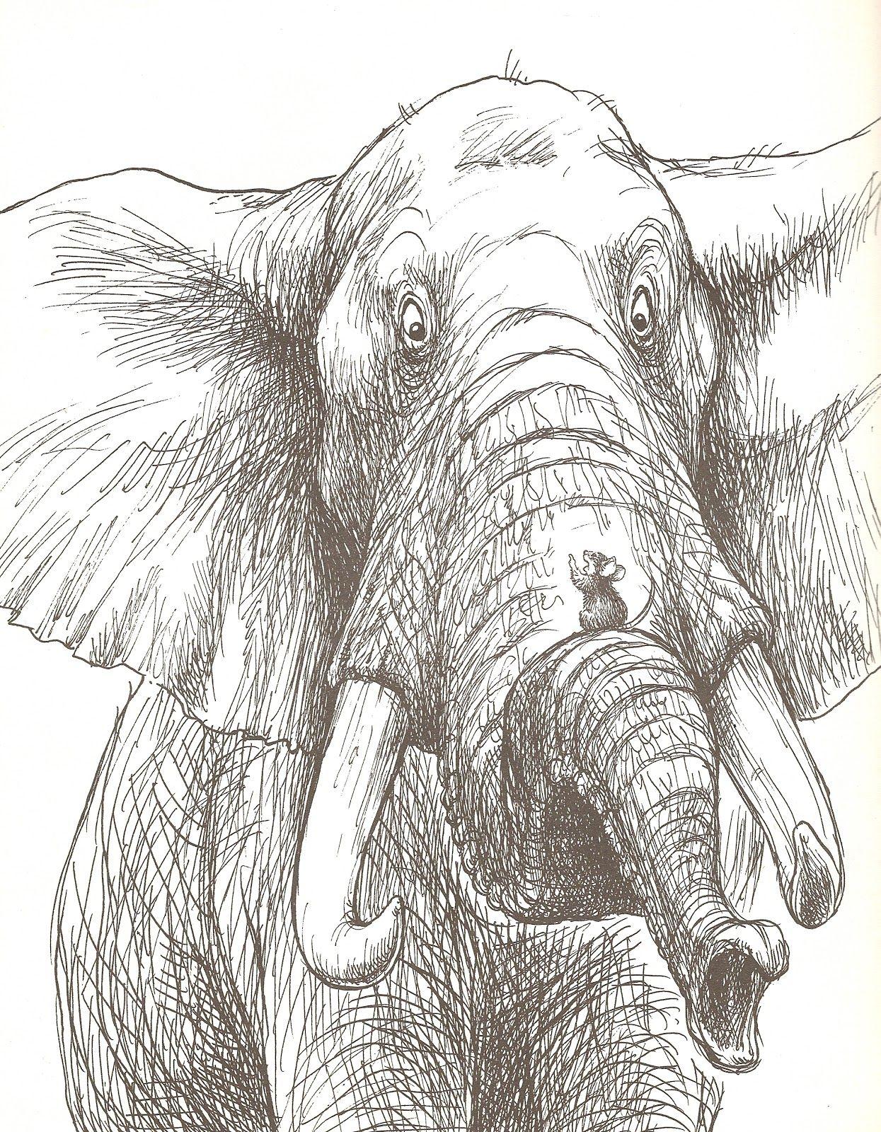 A lovely pen  ink by Wallace Tripp.