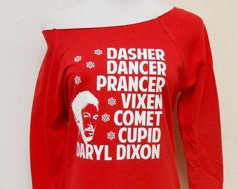 Walking Dead Christmas Sweatshirt The Walking Dead Sweater The