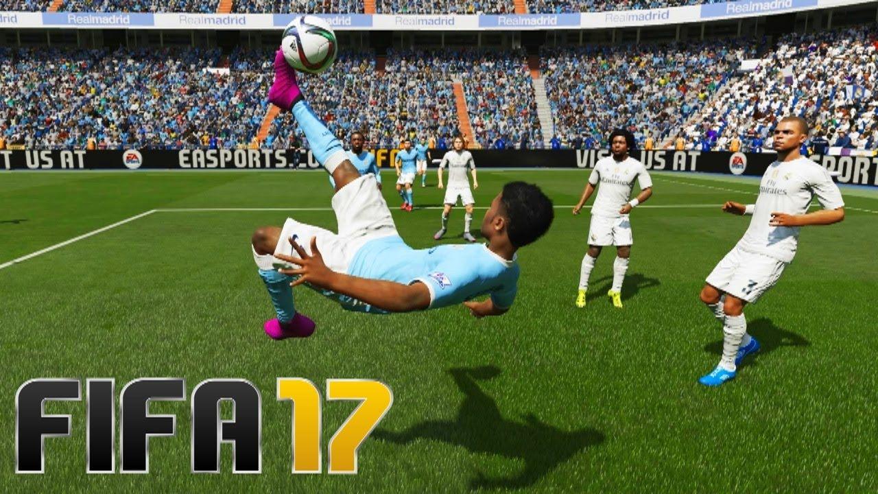 Fifa 17 Top 5 Goals Fifa 17 Fifa Fifa Games