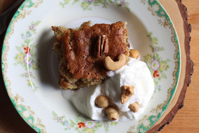 Honey and Beer Spice Cake  by joy the baker, via Flickr