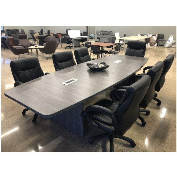 Boat Shape Conference Table 8 Sizes Anderson Worth Office Furniture Conference Table Conference Room Design Table