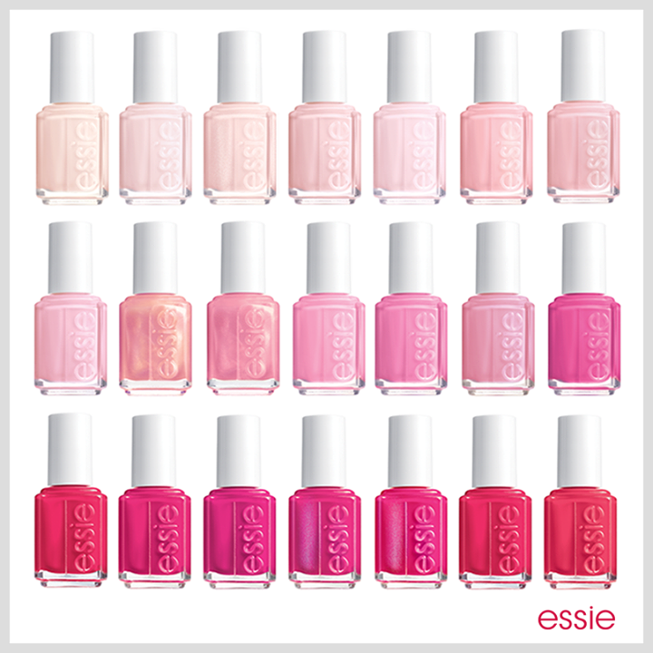 There\'s a pink for everyone. - essie | Essie nail polish, Nail nail ...