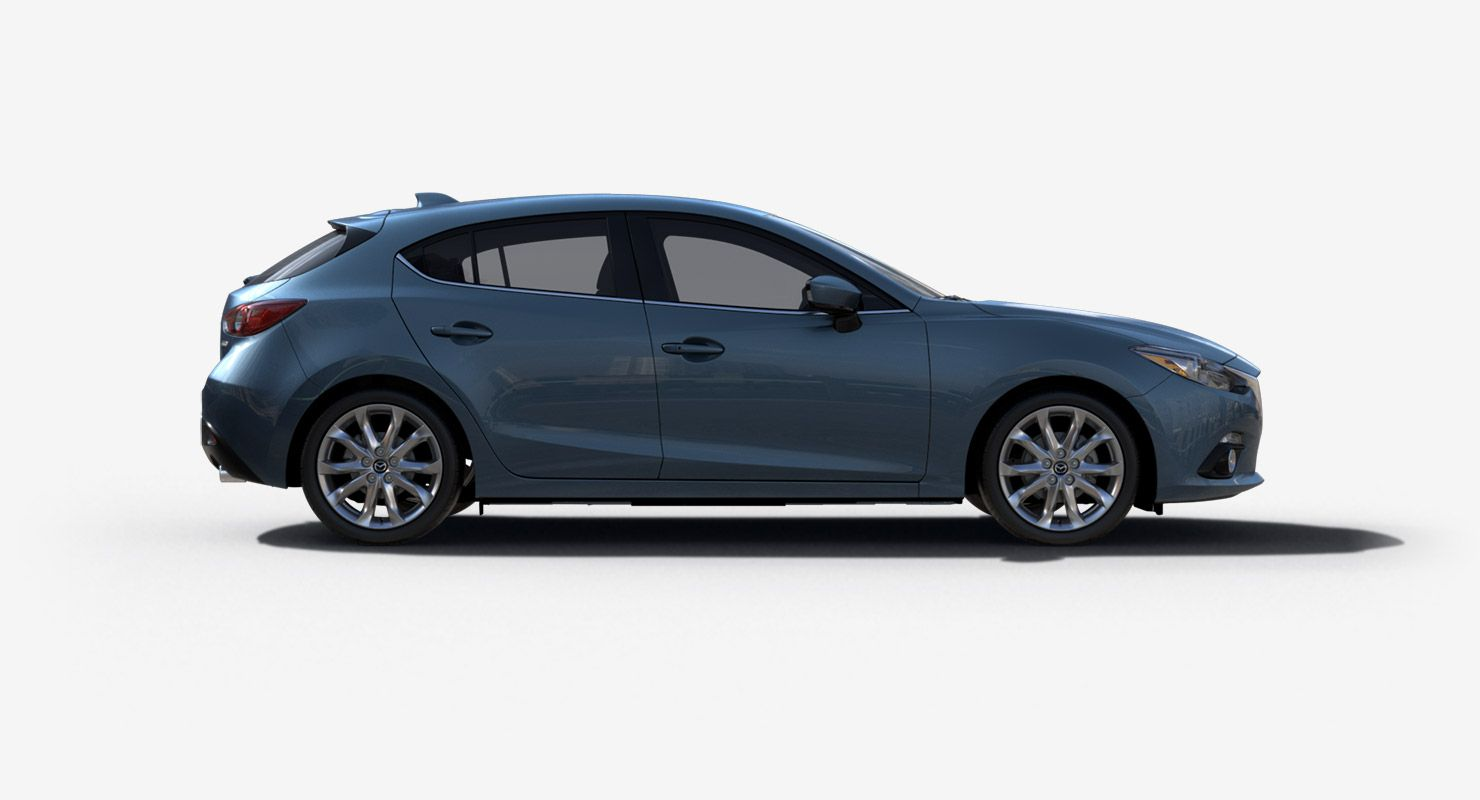 2016 Mazda3 Hatchback This is the color I like (and also