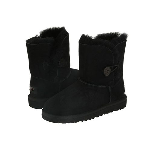 Cheap UGG Kids Bailey Button Boots Clearance 5991 Black Black Friday and Cyber Monday