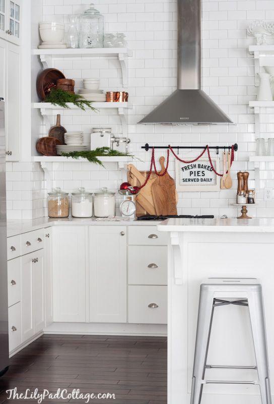 Classic Christmas Tour Home Kitchens Kitchen Decor Kitchen Design