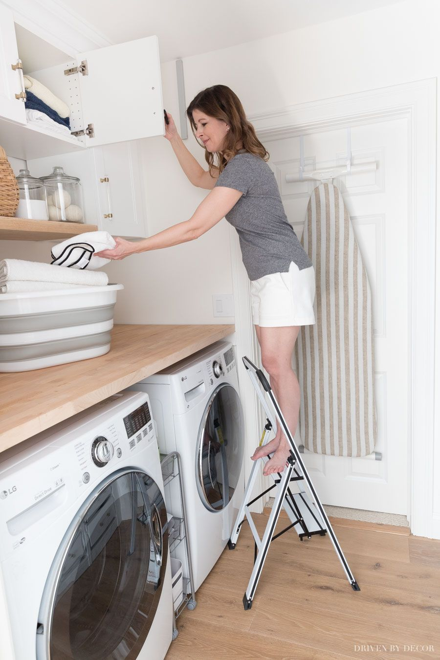 My Six Best Laundry Room Storage Ideas Driven By Decor Laundry Room Storage Storage Room Laundry Decor
