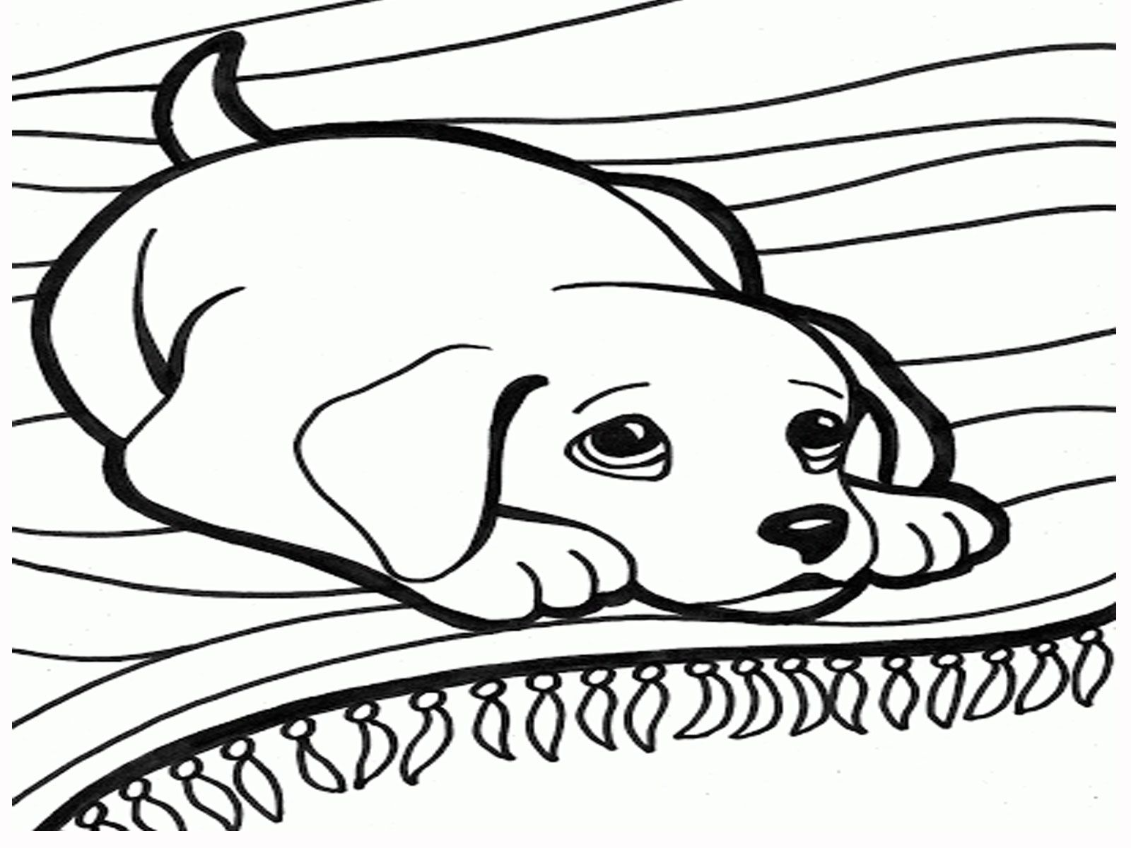 Dog Cartoon And Printable Dog Coloring Pages Coloring Sheets 9 ...
