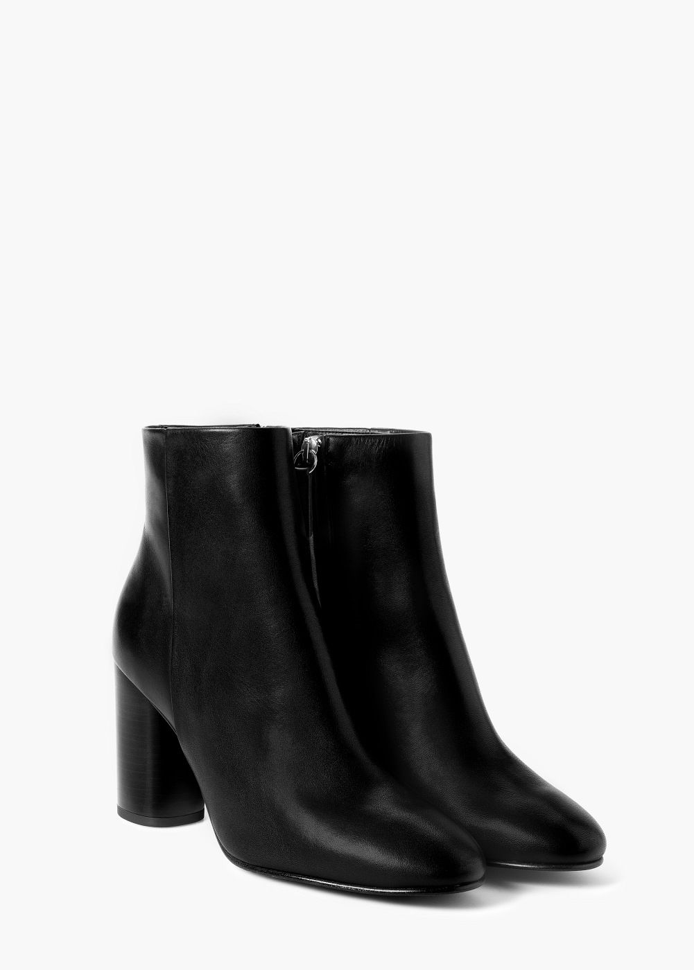 Bottines En Cuir Stretch - NoirMaison Martin Margiela Ab0NPC