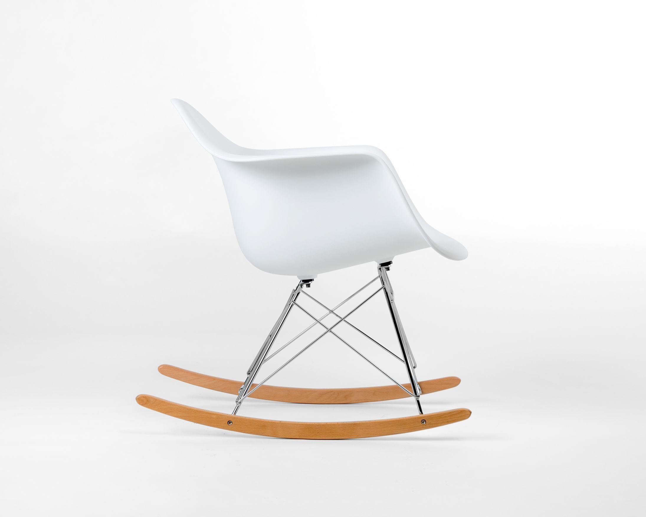 Rar Molded Plastic Rocker Cheap Office Chairs Leather Chaise Lounge Chair Eames Rocker