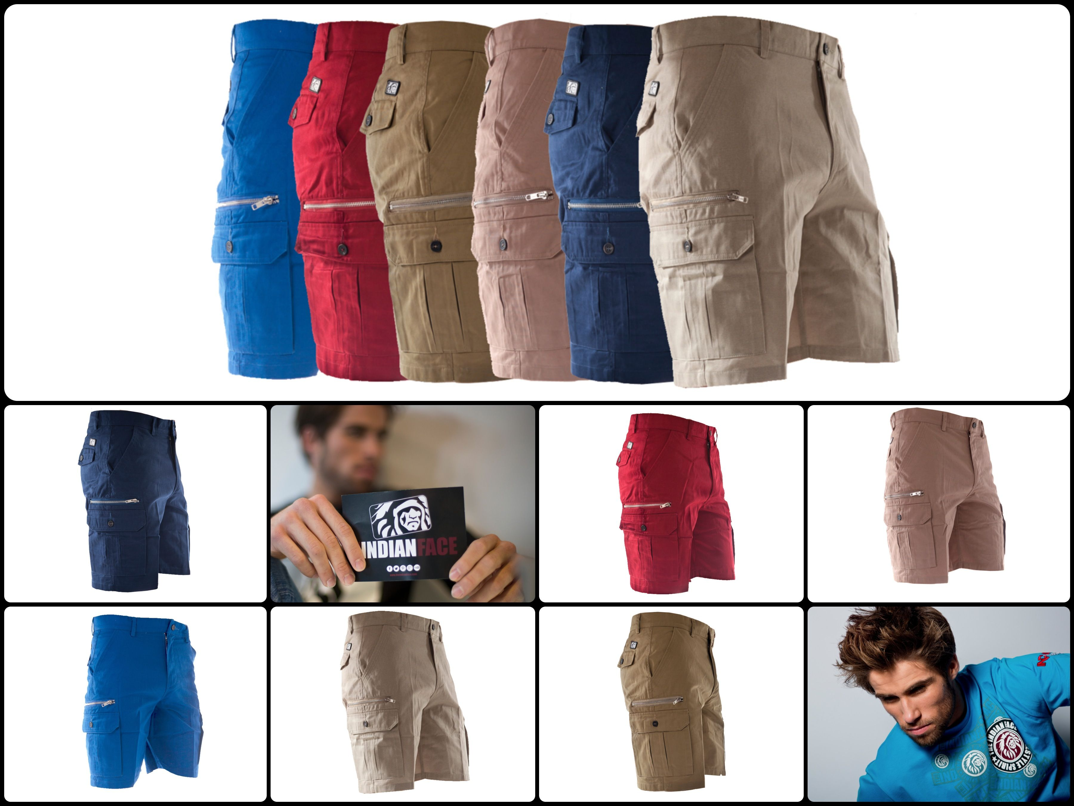 Bermudas The Indian Face http://www.theindianface.com/hombre/pantalones-cortos.html