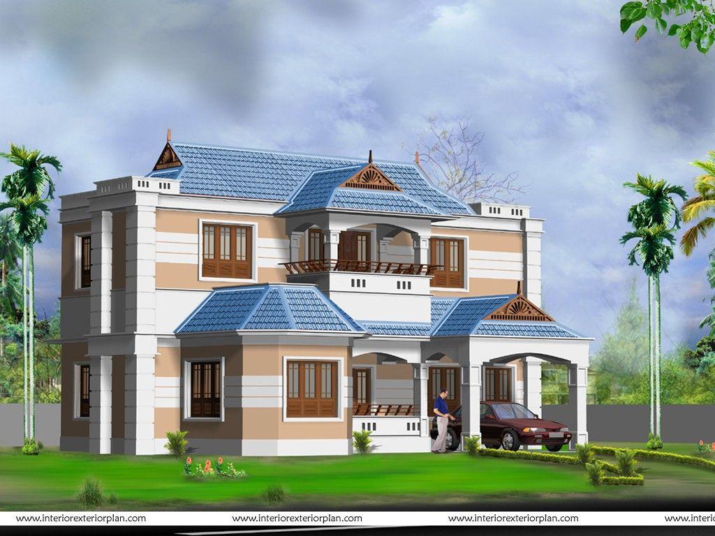 Inside House Pictures Com House Exterior 3d Model Modern Design