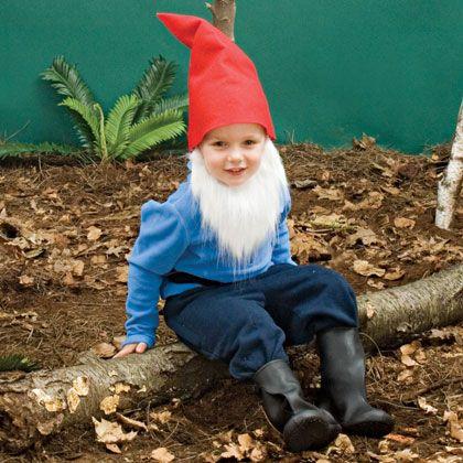 DIY Halloween Costume Ideas For Kids Gnome costume and Gnomes - halloween costumes ideas