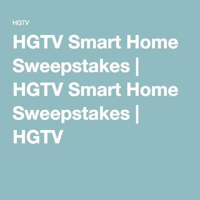 HGTV Smart Home Sweepstakes | HGTV Smart Home Sweepstakes | HGTV
