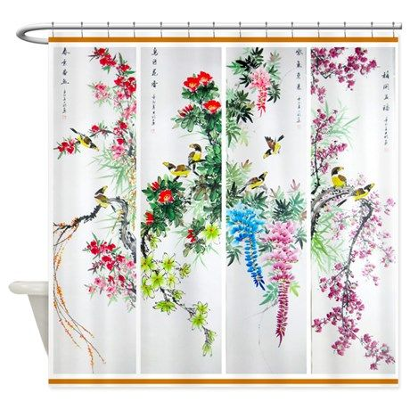 Best Seller Asian Shower Curtain | Asian showers and House