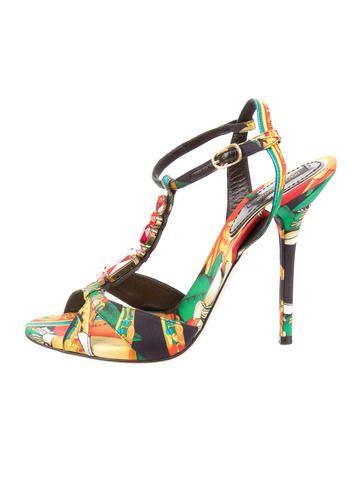 under $60 cheap price outlet ebay Dolce & Gabbana Embellished Multistrap Sandals 100% original sale online z2qMLl