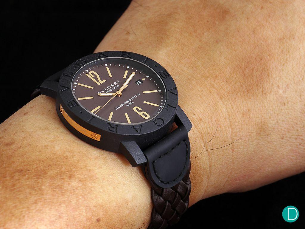 bulgari-carbon-gold-brown-wrist   design   watches in 2019 ... f06f725df8