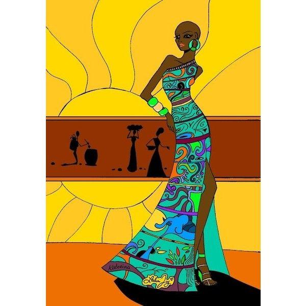African Spirits Series II Print Ricardo Chavez-Mendez New Mexico ...