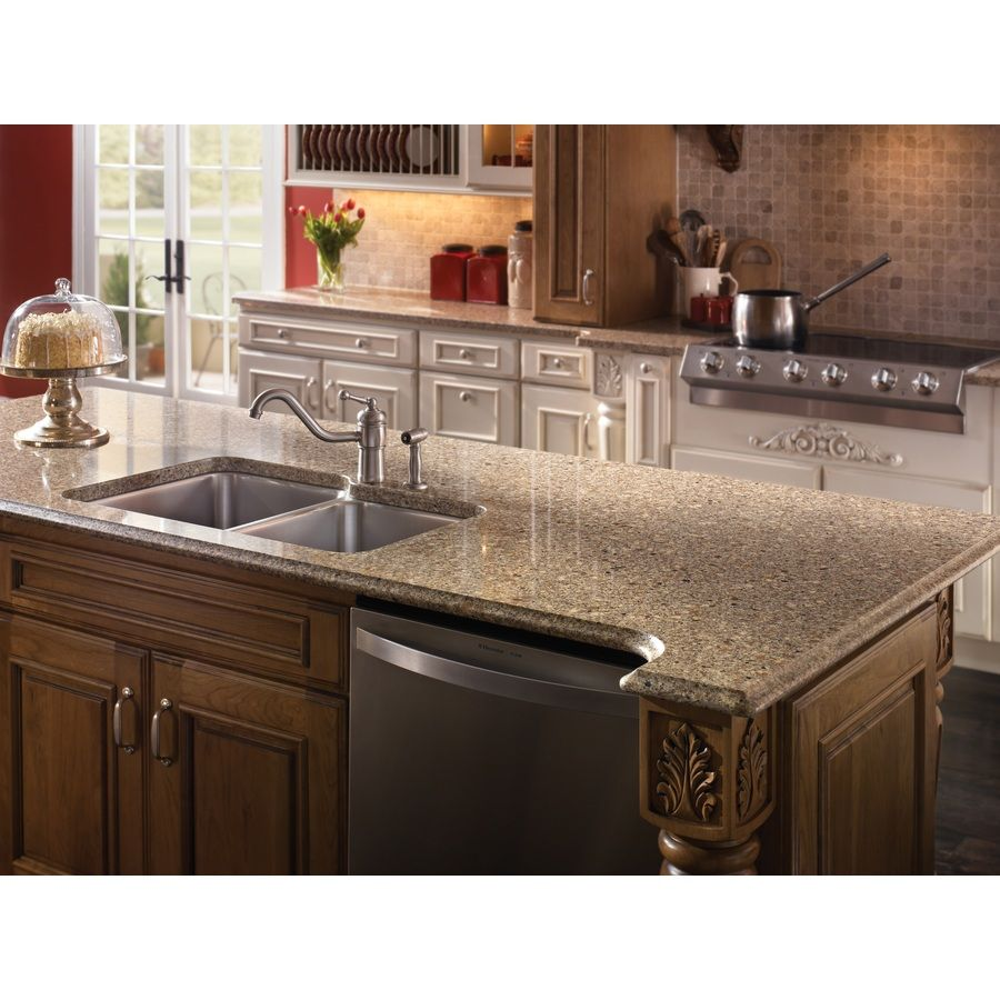 Quartz Kitchen Ideas: Shop Silestone Sienna Ridge Quartz Kitchen Countertop