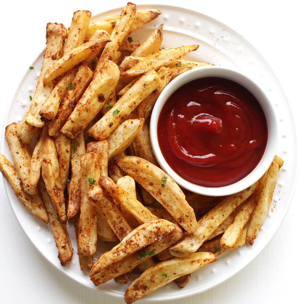 GuiltFree Air Fryer Fries (The Crunchy Chronicles) Air