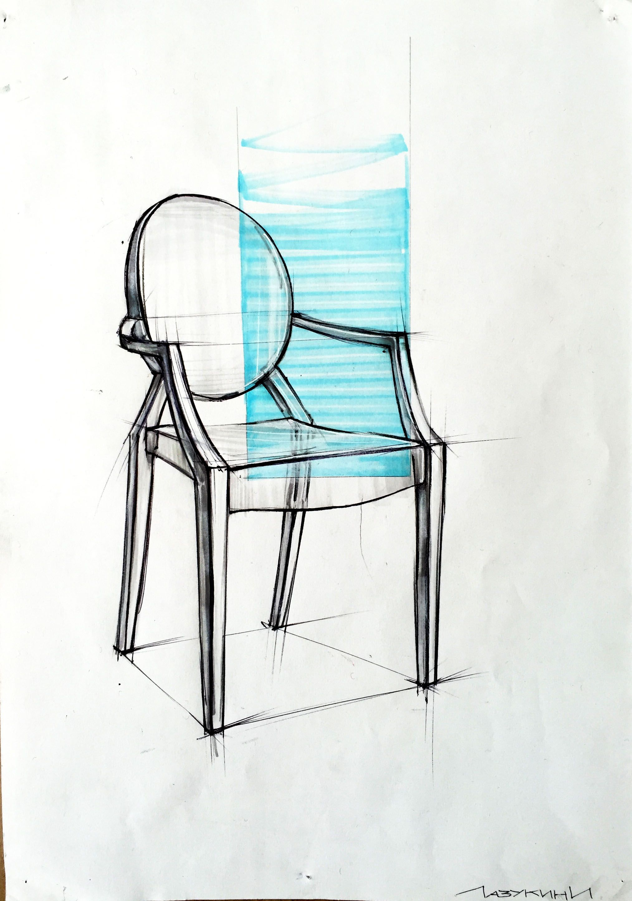 M 1 Sketch Chair Stul Furniture Design Sketches Drawing Furniture Drawing Interior