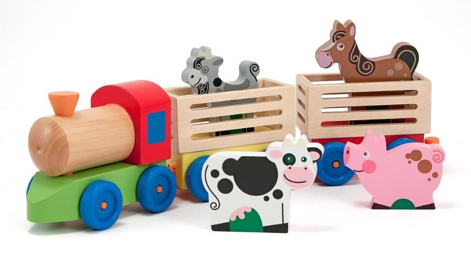 Https Truimg Toysrus Com Product Images Melissa Doug Farm Animal Train Set D7720c8c Zoom Jpg Toys Farm Toys Toy Barn