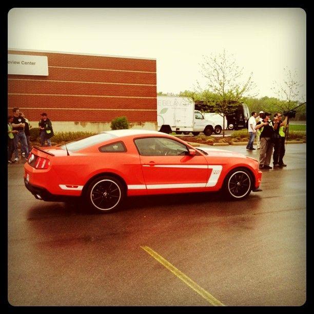 2012 Mustang BOSS 302 sepia