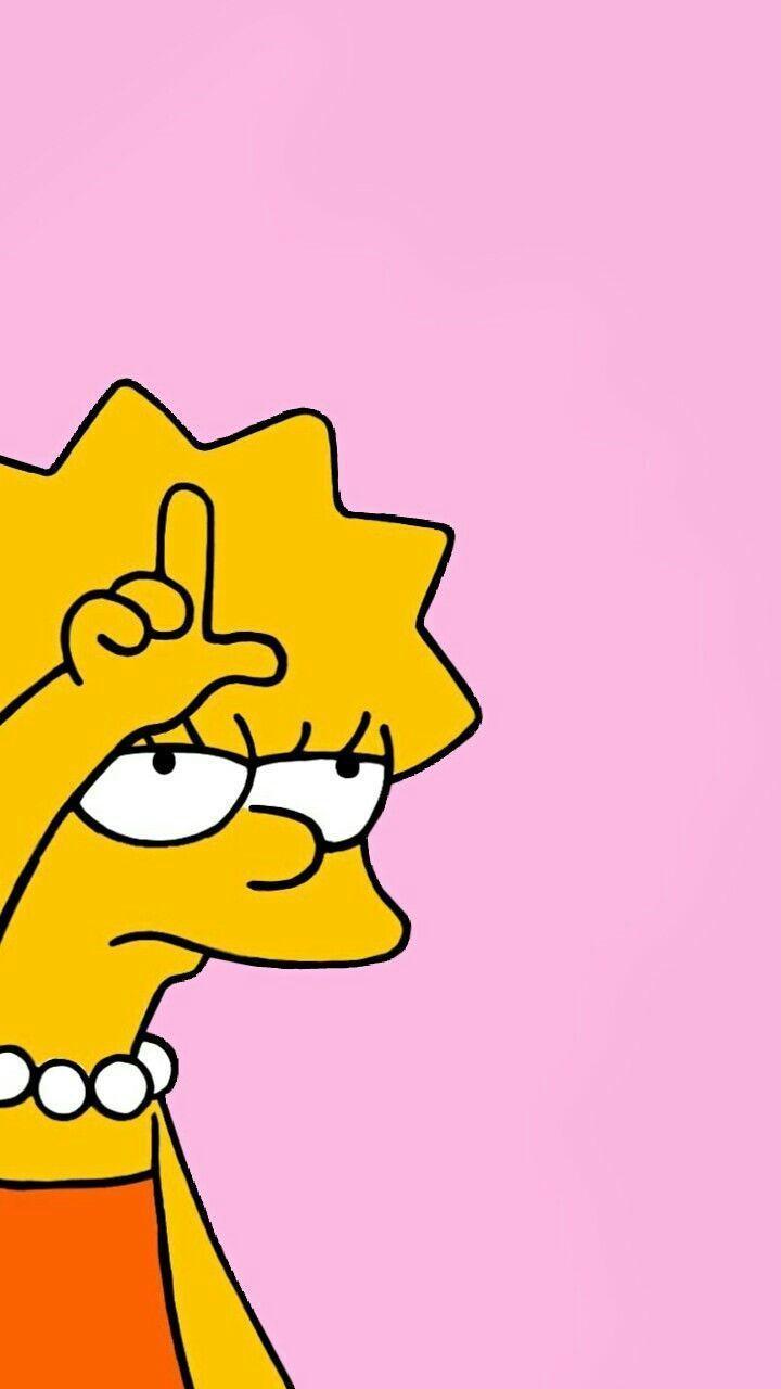 Lisa Simpson Hintergrund - Lisa -  Hintergrund  Lisa  Simpson - Zeichnungen -  h