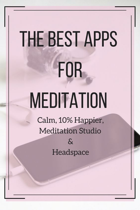 Meditation Apps Review Meditation apps, Stress relief
