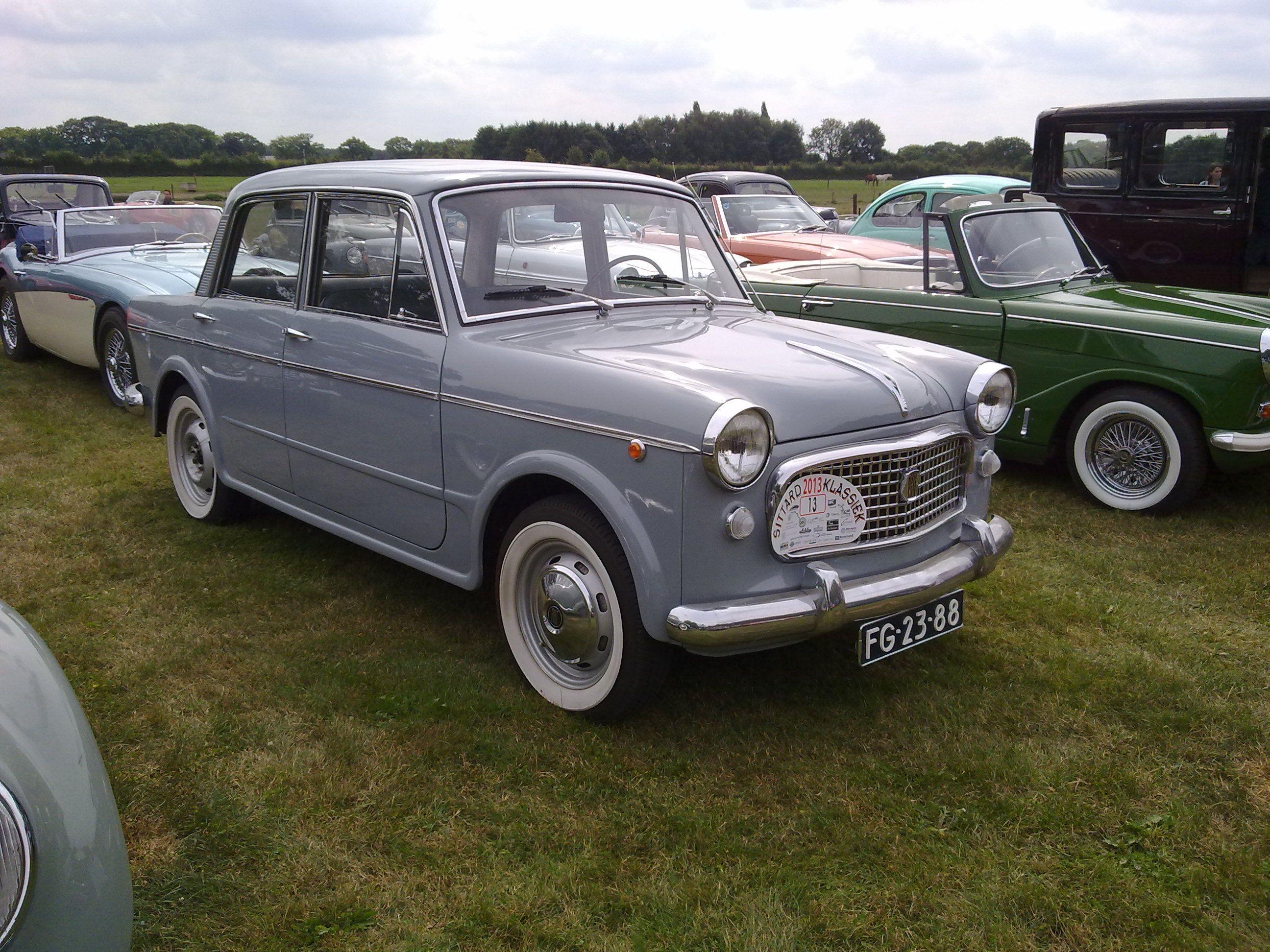 Fiat 1100 Fiat Cars Fiat Motor Car