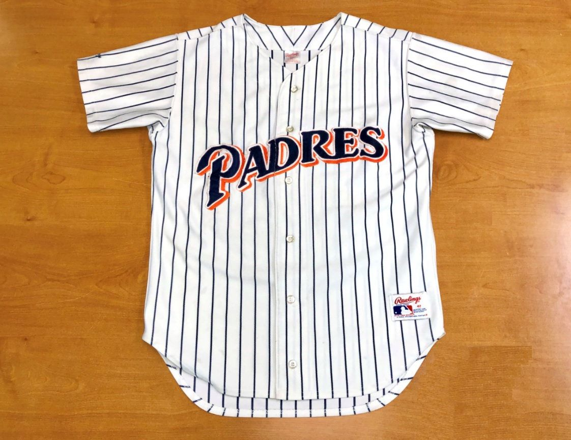 the best attitude d6591 4505c Vintage 1991 San Diego Padres Rawlings Authentic Jersey ...