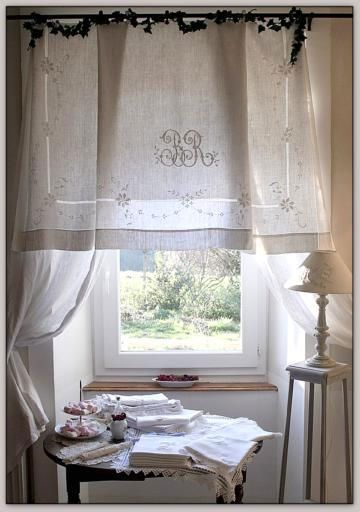 57 embroidery 2 aaadelayda rideau pinterest curtains linen. Black Bedroom Furniture Sets. Home Design Ideas