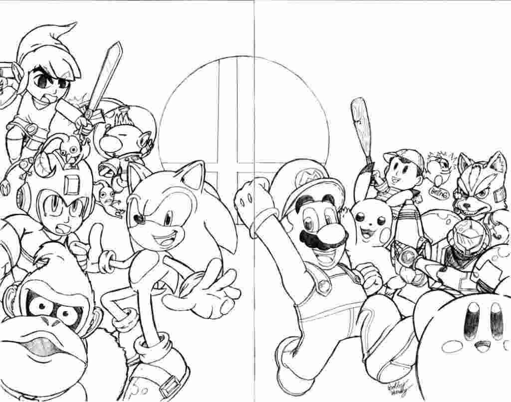 new super mario bros coloring pages
