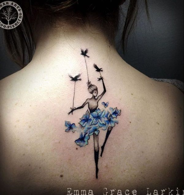 Let S Dance Until The End Of Life And Our Soul Will Fly Because Dancing Is Miraculously Dancer Tattoo Ballerina Tattoo Dance Tattoo