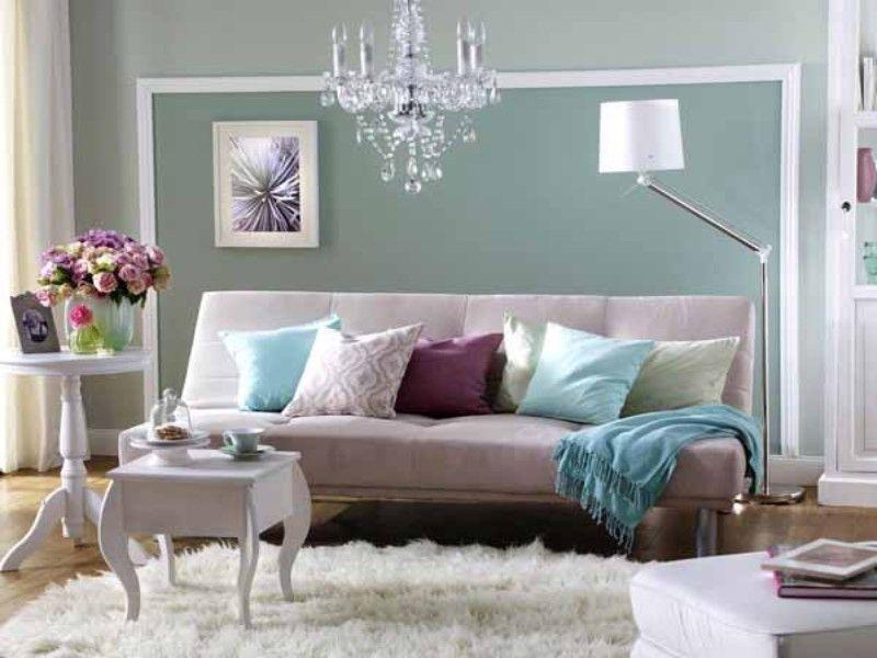 Wunderbare Wandgestaltung im Wohnzimmer | Wandgestaltung ...