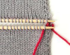 Photo of Strickteile verbinden – Teil 2: Im Maschenstich glatt rechte Teile verbinden