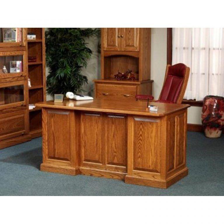 Concept Office Oak Desk 860 Executive Amish