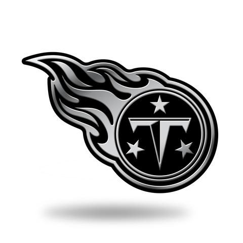 Tennessee Titans Logo 3D Chrome Auto Emblem NEW!! Truck or