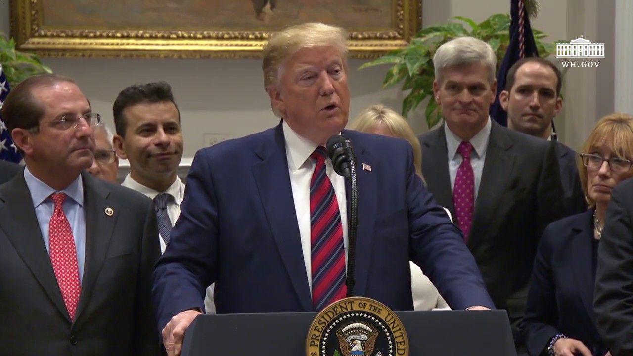 President Trump Delivers Remarks On Ending Surprise Medical