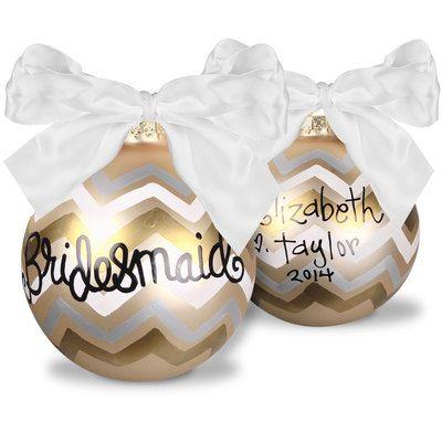 Bridesmaid Ornament