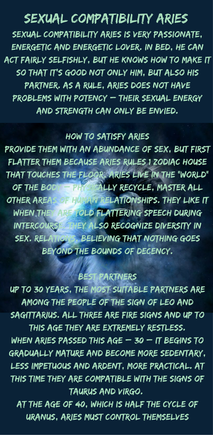 aries and aries sexually compatible